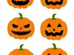 ハロウィンかぼちゃフリーイラスト