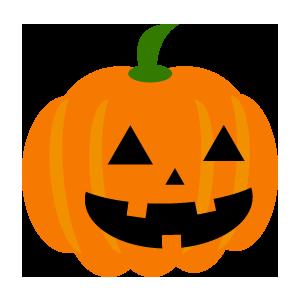 ハロウィンの無料でかわいいかぼちゃのフリーイラスト画像24点